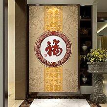 Papier peint décoratif pour entrée, salon, salle