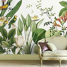 Papier peint forêt tropicale tropicale papier