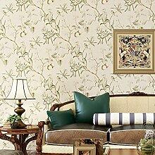 Papier peint intissé,Autocollants Muraux,Fleur