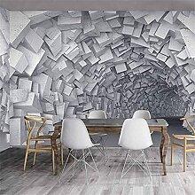 Papier peint mural 8D avec vision stéréo, espace