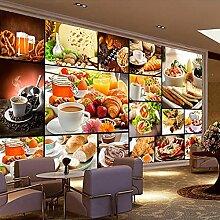 Papier peint mural européen pour pain,