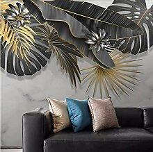 Papier Peint Mural Personnalisé Feuille De Plante