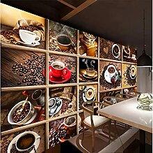 Papier peint Mural personnalisé grains de café