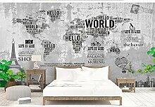 Papier Peint Panoramique Intissé Carte Du Monde