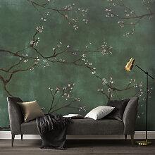Papier peint panoramique intissé cerisiers