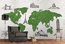 Papier Peint Panoramique Mur De Briques De