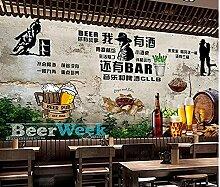 Papier Peint Peinture Mur Mur De Ciment Rétro Et