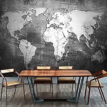 Papier peint personnalisé carte du monde 3D pour