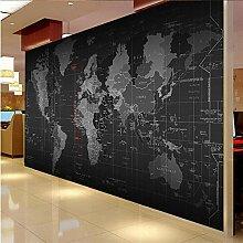 Papier Peint Photo Carte Du Monde 150x105 cm