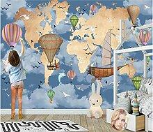 Papier Peint Photo Carte Du Monde 250x175 cm
