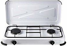 Papillon - 8145045 - Réchaud à gaz 2 feux - Blanc