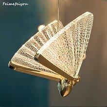 Papillon Pendentif Led lumières Éclairage