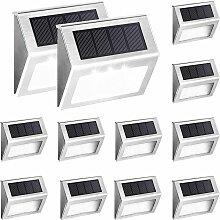 Paquet de 12 lumières solaires pour terrasse, 3