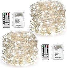 [Paquet de 2]Guirlande Lumineuse 5M 50 LEDs, LED