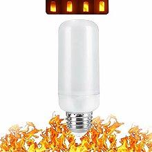 Paquet De 2, Lampe À Flamme Led E27 E26 Ampoule