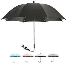 Parapluie de poussette pour bébé, pare-soleil