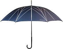 Parapluie en textile recyclé bleu