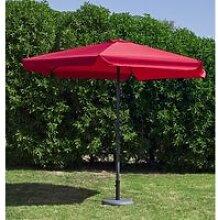 Parasol acas30 - 300cm - rouge 31587