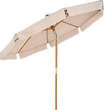 Parasol de Jardin, Ø 300 cm, Ombrelle octogonale,