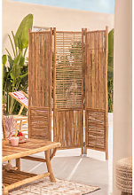 Paravent en bambou Clint Bambou Sklum
