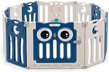 Parc bébé en plastique 12 éléments pliable