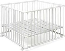 Parc pour bébé Belami Plus  Weiß 97 cm x 97 cm