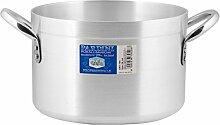 Pardini Albergo Marmite Haute, Aluminium, Gris, 24