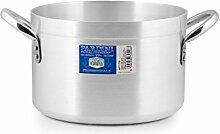 Pardini Albergo Marmite Haute, Aluminium, Gris, 26