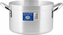 Pardini Albergo Marmite Haute, Aluminium, Gris, 38