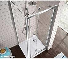 Pare-douche avec porte pliante TR300 Kassandra