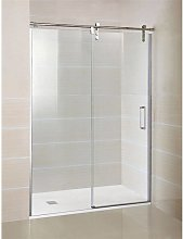 Pare-douche frontal 1 porte coulissante MOVING GME