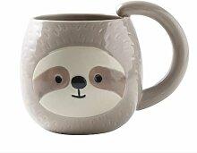 Paresse tasse à café mignon voyage thé tasse