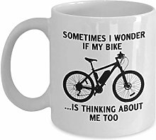 Parfois, je me demande si mon vélo pense trop à