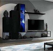 Paris Prix - Ensemble Meuble Tv Design switch Viii