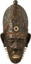 Paris Prix - Masque Africain statuette 44cm Marron
