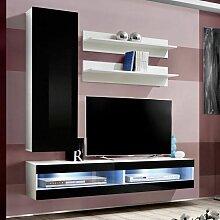 Paris Prix - Meuble Tv Mural Design lxxxix 260cm