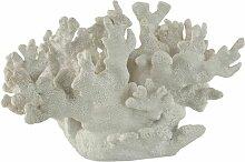 Paris Prix - Statuette Déco corail 30cm Blanc