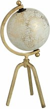 Paris Prix - Statuette Déco globe Trépied 40cm