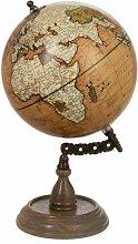 Paris Prix - Statuette Déco globe Vintage 34cm