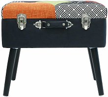 Paris Prix - Tabouret & Coffre Design valise 50cm