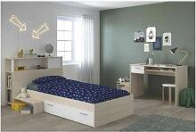 PARISOT Chambre enfant complete Tete de lit + lit