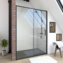 Paroi porte de douche a porte coulissante -
