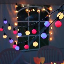 PARTY BALLS-Guirlande d'extérieur LED 20