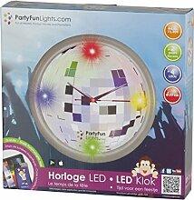 PartyFunLights 86384 Luminaire de Fête Horloge LED