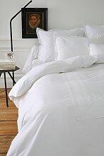 Parure de lit Anecdotes blanc percale