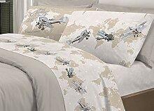 Parure de lit avions pour le monde   Parure de lit