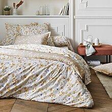 Parure de lit Bel Amour Jaune en percale