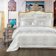 Parure de lit de luxe, ensemble de literie King