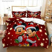 Parure de lit Disney Mickey Mouse, housse de