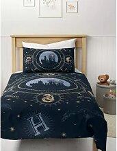 Parure de lit en coton mélangé à motif Harry